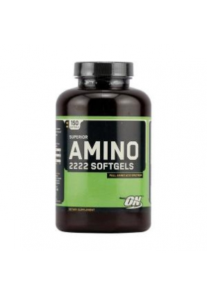 Superior Amino 2222 - 150 гель-капс. (Optimum nutrition)