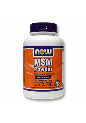MSM Powder 227 гр - 8 oz (NOW)