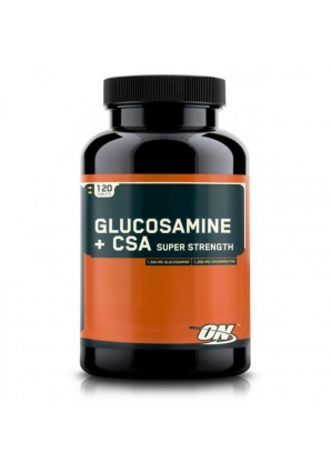 Glucosamine plus CSA Super Strength 120 табл (Optimum nutrition)