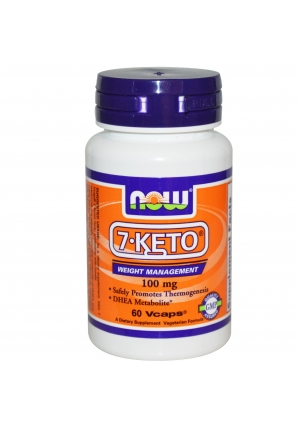 7-KETO 100 мг 60 капс (NOW)