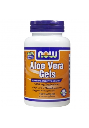 Aloe Vera 5000 мг 100 гелькапс (NOW)