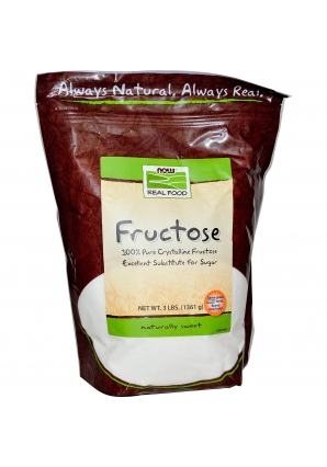 Fructose 3 lb - 1361 гр (NOW)