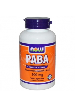PABA 500 мг 100 капс (NOW)