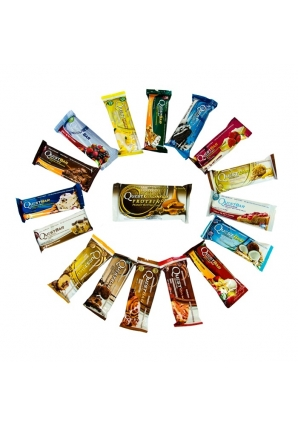 "Набор Quest Bar ""все вкусы"" + конфета Cravings 19 шт 60 гр (Quest Nutrition)"