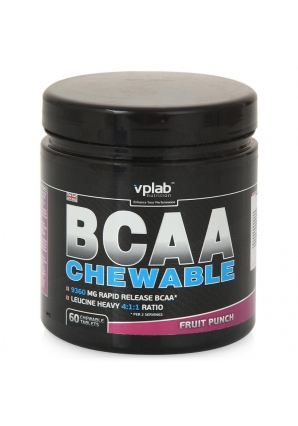 BCAA chewable 60 табл (VPLab)
