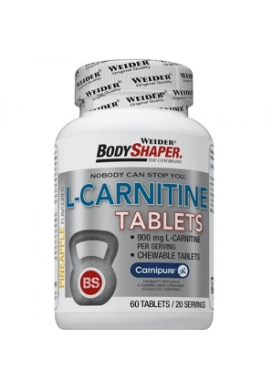 L-Carnitine 60 табл (Weider)