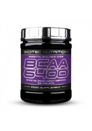 BCAA 6400 125 табл (Scitec Nutrition)