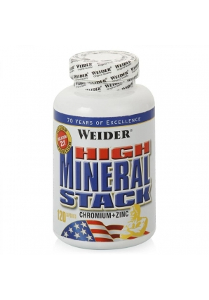 High Mineral Stack 120 капс (Weider)