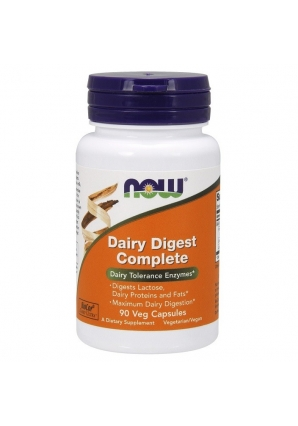 Dairy Digest Complete 90 капс (NOW)