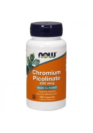 Chromium Picolinate 200 мкг 100 капс (NOW)