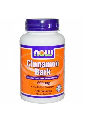 Cinnamon Bark 600 мг 120 капс (NOW)