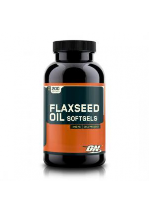 Flaxseed Oil 200 капс. (Optimum nutrition)