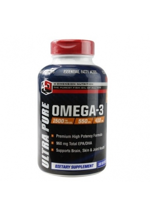 Ultra Pure Omega-3 100 капс (4 Dimension Nutrition)