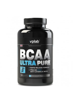 BCAA Ultra Pure 120 капс (VPLab)