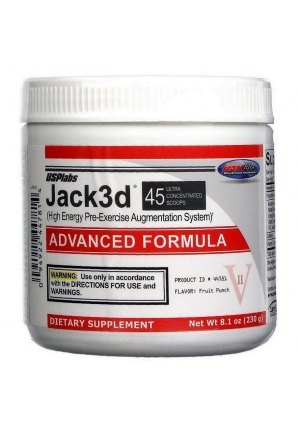 Jack3d Advanced Formula 230 гр (USPLabs)