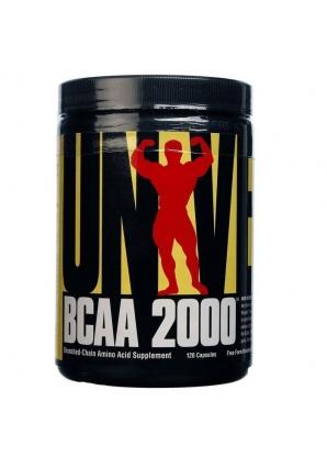 BCAA 2000 120 капс. (Universal Nutrition)