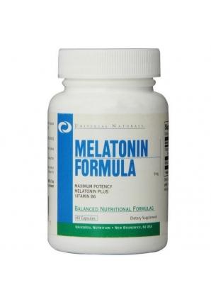 Melatonin 5 мг 60 капс (Universal Nutrition)