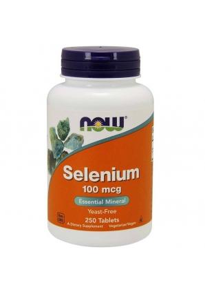 Selenium 100 мкг 250 табл (NOW)