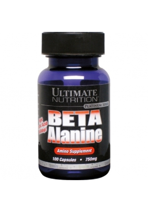 Beta Alanine 750 mg 100 капс (Ultimate Nutrition)