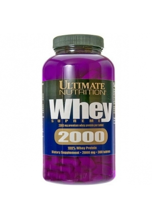 100% Whey supreme 2000 - 300 таб. (Ultimate Nutrition)