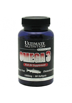 Omega 3 1000 мг 90 капс. (Ultimate Nutrition)