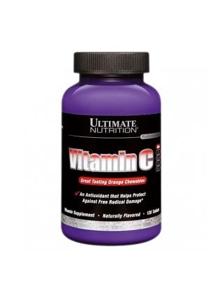 Vitamin C 120 табл (Ultimate Nutrition)
