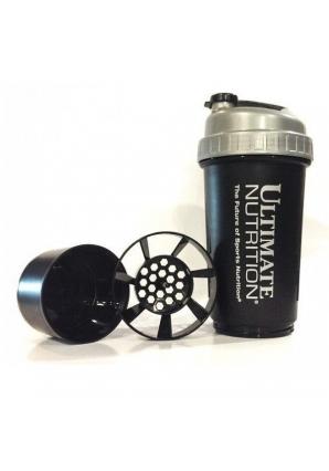 Шейкер 2 в 1 600 мл (Ultimate Nutrition)
