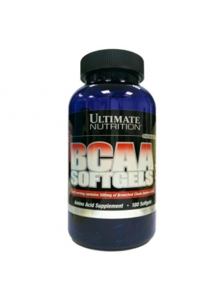 BCAA Softgels 180 гель-капс (Ultimate Nutrition)