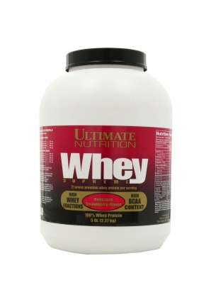 Whey Supreme 2,27 кг. 5lb (Ultimate Nutrition)