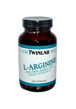 L-Arginine 100 капс (Twinlab)