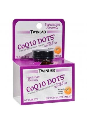 CoQ10 Dots 30 мг 60 таб (Twinlab)