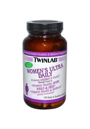 Womens Ultra Multi Daily 120 капс. (Twinlab)