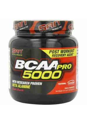 BCAA-Pro 5000 NON GMO 690 гр. (SAN)