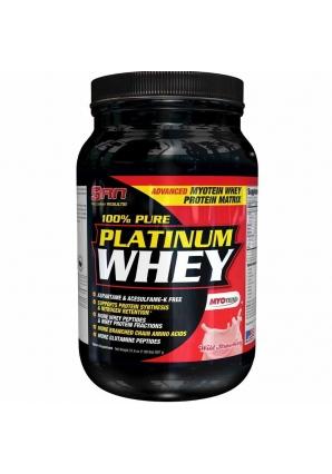 100% Pure Platinum Whey 897 гр. 2lb (SAN)