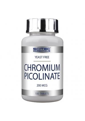 Chromium Picolinate 200 мкг 100 табл (Scitec Nutrition)