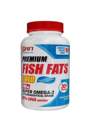 Premium Fish Fats Gold 120 капс. (SAN)