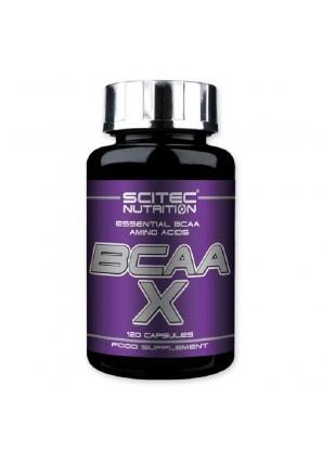 BCAA-X 120 капс (Scitec Nutrition)
