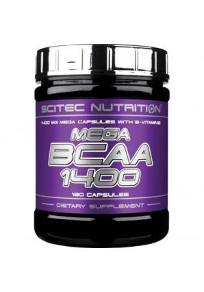 Mega BCAA 1400 180 капс (Scitec Nutrition)