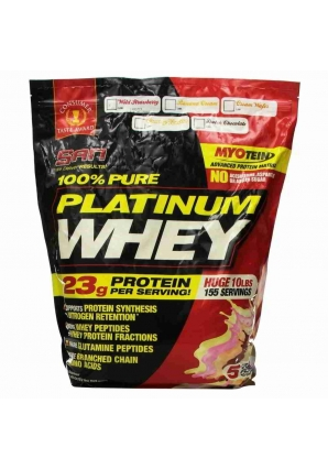 100% Pure Platinum Whey 4628 гр. 10lb (SAN)