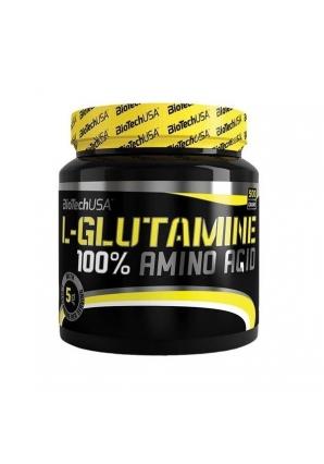 100% L-Glutamine 500 гр (BioTechUSA)