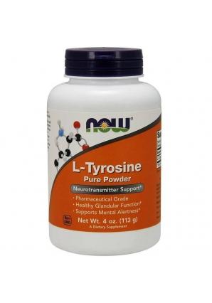 L-Tyrosine Powder 113 гр - 4oz (NOW)