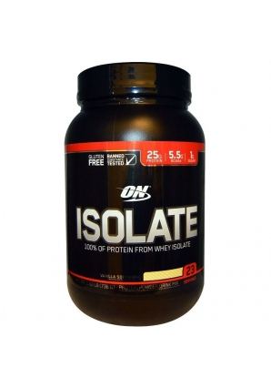 Isolate GF 736 гр - 1.62lb (Optimum nutrition)