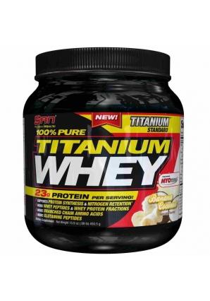 100% Pure Titanium Whey 489 гр. 1lb (SAN)