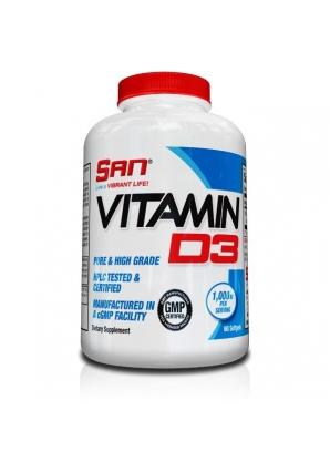 Vitamin D3 180 капс (SAN)