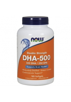 DHA 500 мг 180 капс (NOW)