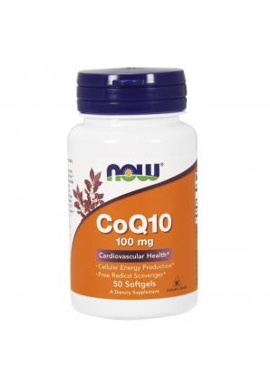 CoQ10 100 мг 50 гелькапс (NOW)