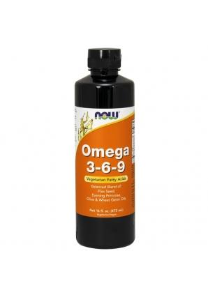 Omega 3-6-9 Liquid 473 мл - 16oz (NOW)