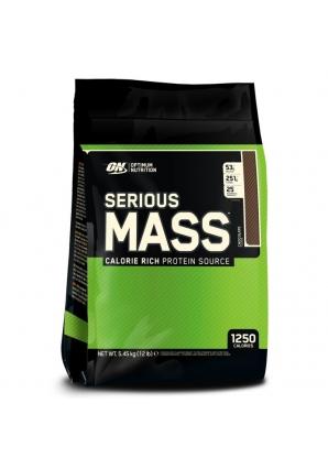 Serious Mass 5545 гр - 12lb EU (Optimum nutrition)