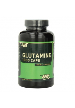 Glutamine Caps 1000 мг 120 капс. (Optimum nutrition)