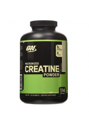 Micronized Creatine Powder 600 гр. (Optimum nutrition)